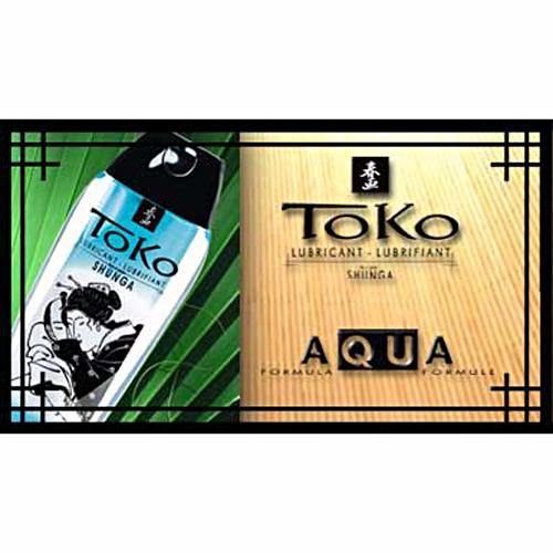 加拿大Shunga*TOKO AQUA芬芳系列水基潤滑油_165ml