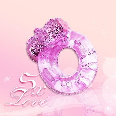 蝴蝶震動套環