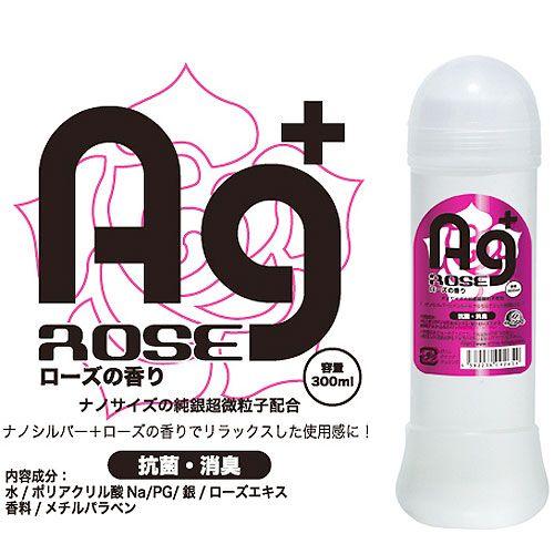 日本A-ONE*Ag 銀離子抗菌消臭潤滑液(300ml)-玫瑰芬芳