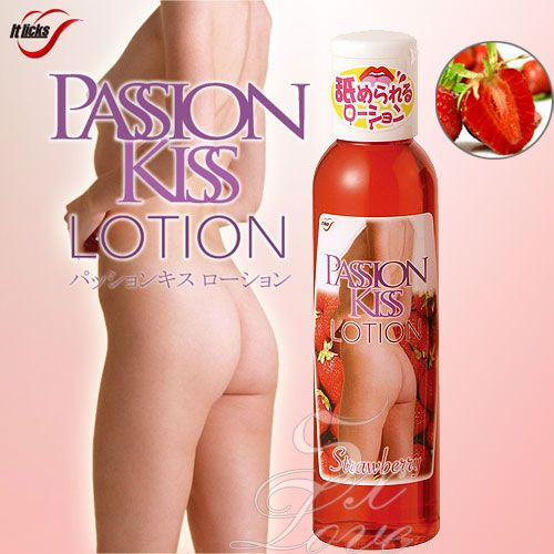 日本WINS*PASSION KISS LOTION 愛露潤滑液-草莓