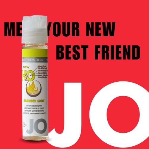 美國JO*NEW H2O潤滑液(30ml)香蕉口味(可當口交液)