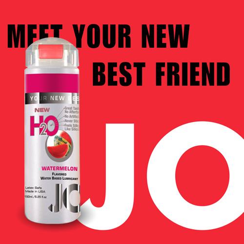 美國JO*H2O水溶性潤滑液(150ml)西瓜水果 (可當口交液)