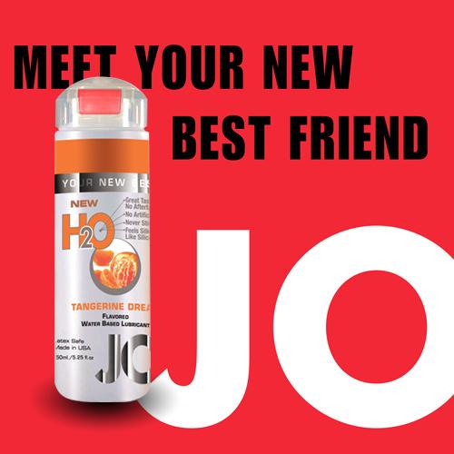 美國JO*H2O水溶性潤滑液(150ml)橘子口味 (可當口交液)