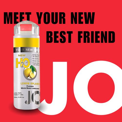 美國JO*H2O水溶性潤滑液(150ml)檸檬口味 (可當口交液)