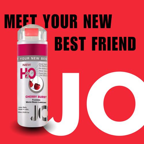 美國JO*H2O水溶性潤滑液(150ml)櫻桃口味 (可當口交液)