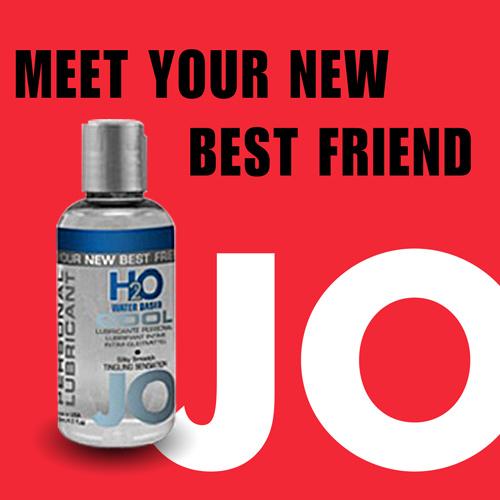 美國JO*H2O Water Based COOL水溶性潤滑液(75ml)冰爽