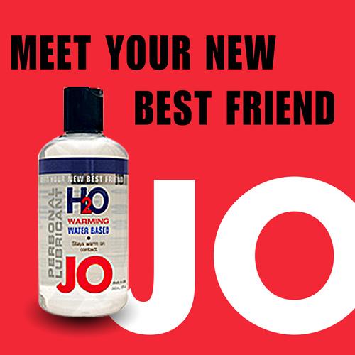 美國JO*H2O Water Based水溶性潤滑液(75ml)熱感