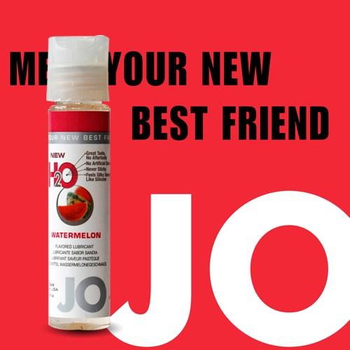 美國JO*NEW H2O潤滑液(30ml)西瓜口味 (可當口交液)
