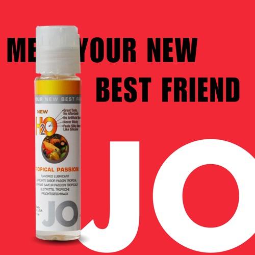 美國JO*NEW H2O潤滑液(30ml)熱帶水果 (可當口交液)