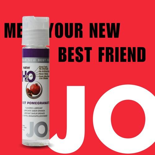 美國JO*NEW H2O潤滑液(30ml)石榴口味 (可當口交液)