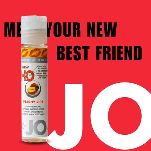 美國JO*NEW H2O 潤滑液_30ml(甜桃口味)