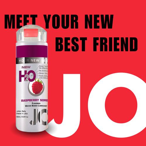 美國JO*H2O水溶性潤滑液(150ml)紅莓口味 (可當口交液)