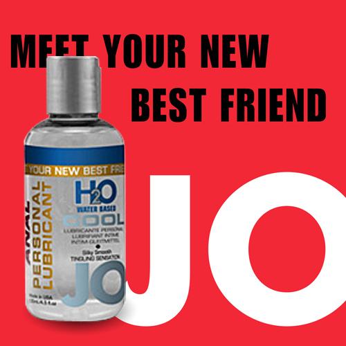 美國JO*H2O水溶性潤滑液(135ml)冰爽型-後庭專用