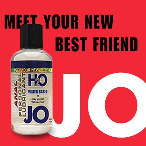 美國JO*ANAL H2O水溶性潤滑液(135ml)後庭專用