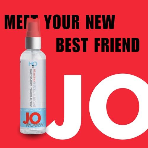美國JO*H2O水溶性女用潤滑液(60ml)熱感型