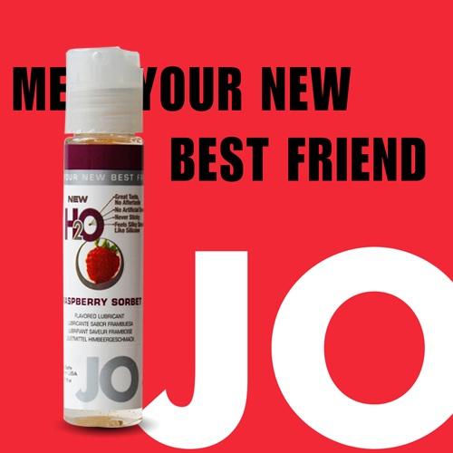 美國JO*NEW H2O潤滑液(30ml)山莓口味(可當口交液)