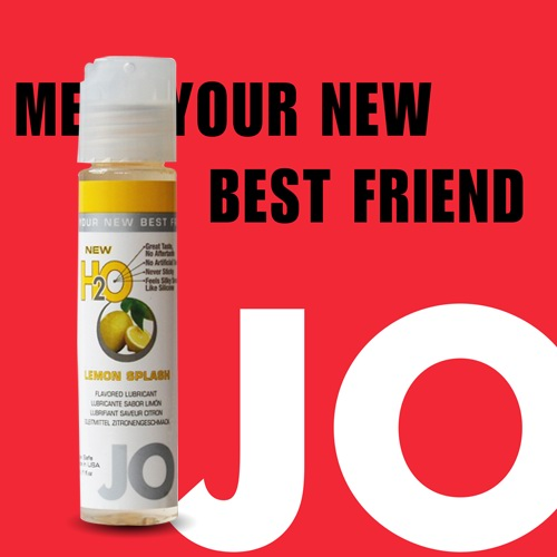 美國JO*NEW H2O潤滑液(30ml)檸檬口味 (可當口交液)