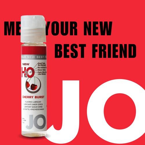 美國JO*NEW H2O潤滑液(30ml)櫻桃口味(可當口交液)