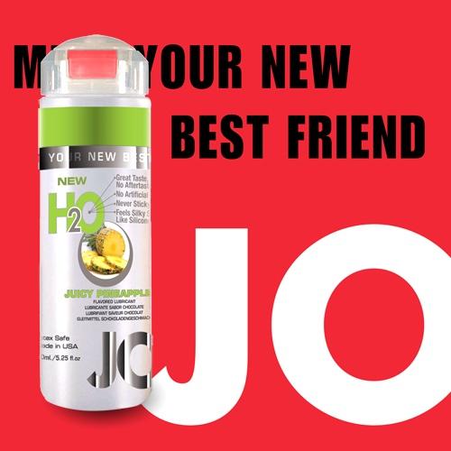 美國JO*NEW H2O Pineapple 潤滑液(150ml)鳳梨口味(可當口交液)