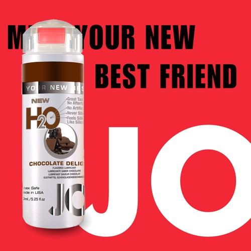 美國JO*NEW H2O潤滑液(150ml)巧克力口味(可當口交液)