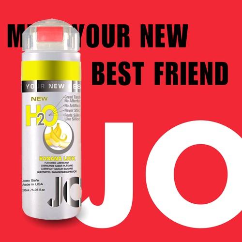 美國JO*NEW H2O潤滑液(150ml)香蕉口味(可當口交液)