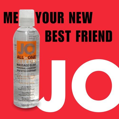 美國JO*ALLinONE Sensual油性潤滑液(120ml)柑橘