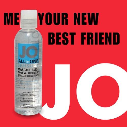 美國JO*ALLinONE Sensual油性潤滑液(120ml)無色無味