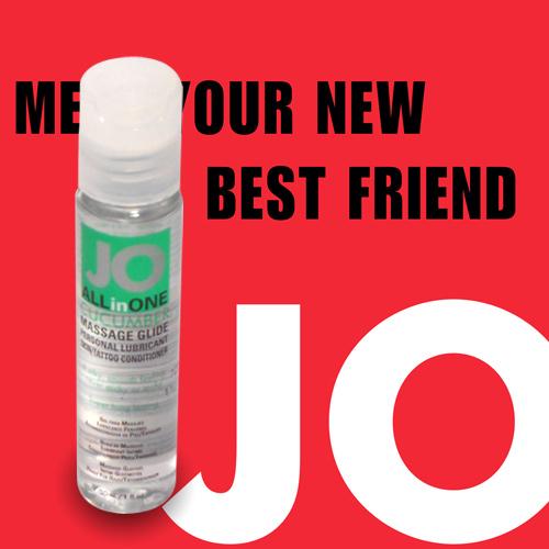 美國JO*ALLinONE Cucumber油性潤滑液(30ml)黃瓜