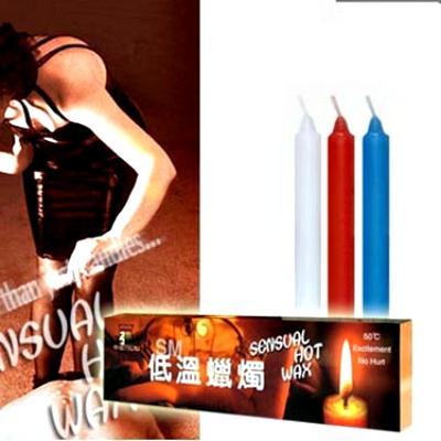 高級低溫級蠟燭(三支裝細長型