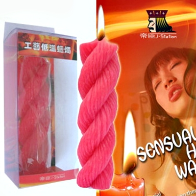 繩形高級低溫蠟燭