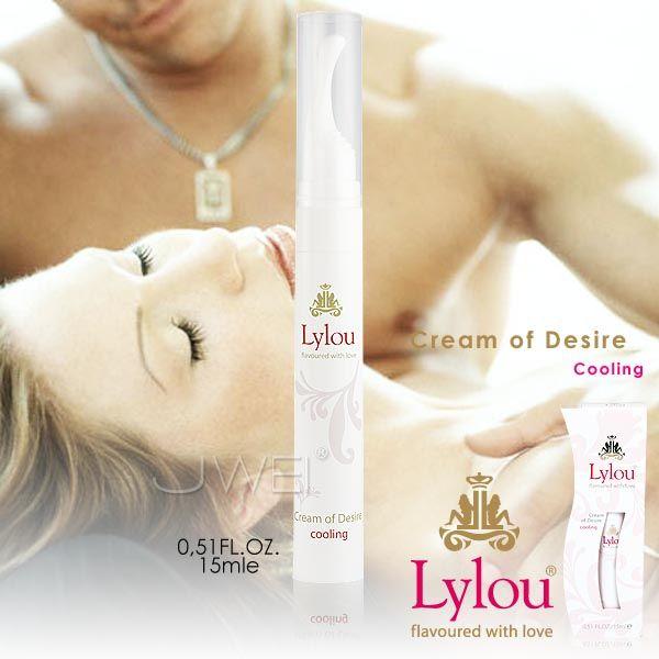 德國Lylou*Cream of Desire奢華冰感 強效威而柔(加強配方)15ml