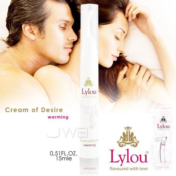 德國Lylou*Cream of Desire 慾望熱感 強效威而柔 (加強配方)15ml