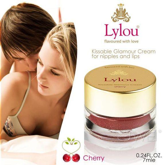 德國Lylou*Kissable Glamour Cream 頂級滋潤調情乳霜-櫻桃(7ml)