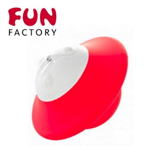 德國Fun Factory*UFO 小飛碟號小淘器﹝紅﹞