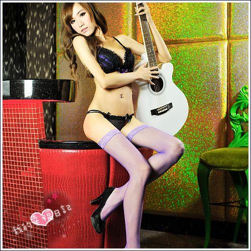 我的幸福日記.性感大腿網襪-神秘紫(小網襪)