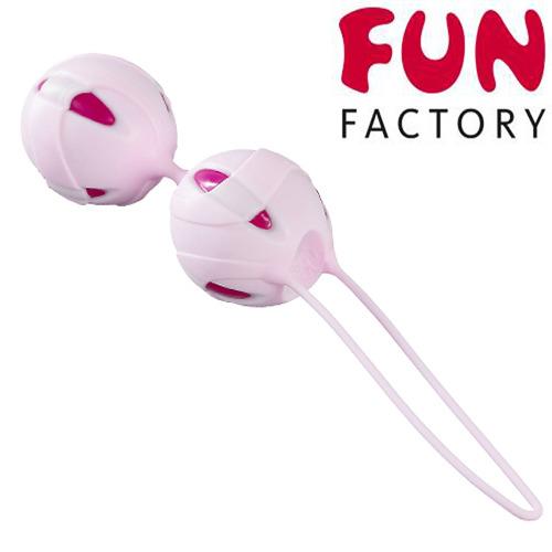德國FUN FACTORY*聰明球球第二代 雙球(粉-紫紅)