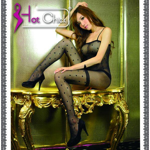 Hot Chick -法國香頌.性感圓點貓裝網