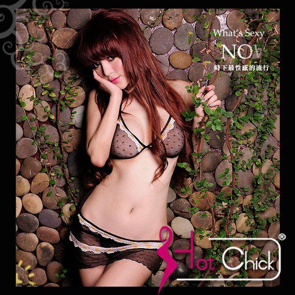 Hot Chick – 媚惑星情.雪紡二件式情趣睡衣