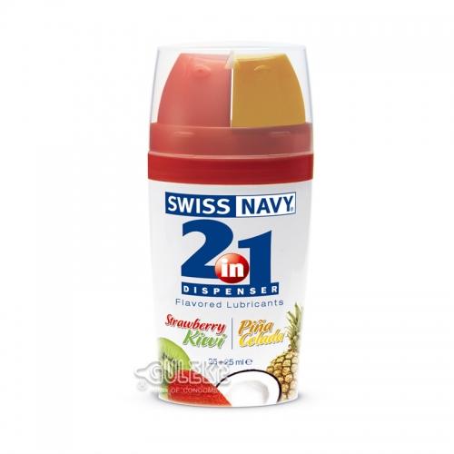 Swiss Navy 2in1 二合一甜蜜果味潤滑液25ml 25ml