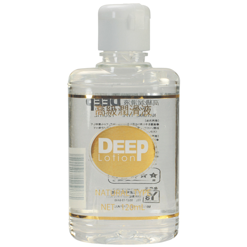 日本NPG*DEEP-Lotion高級潤滑液自然型_120ml