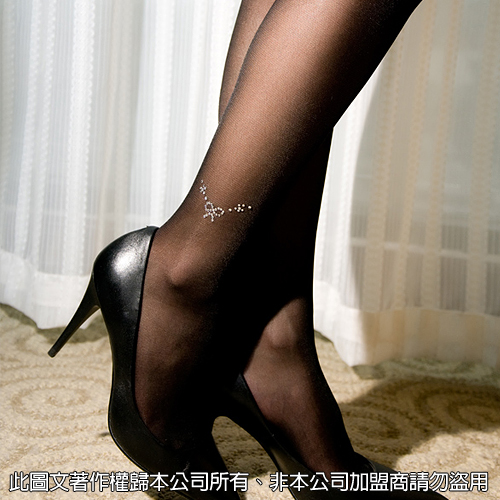 美國Selebritee-閃亮水鑽性感絲襪