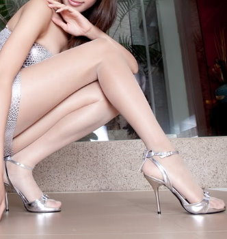 性感美腿 – 腰部以下全透明彈性絲襪 (台灣精品)
