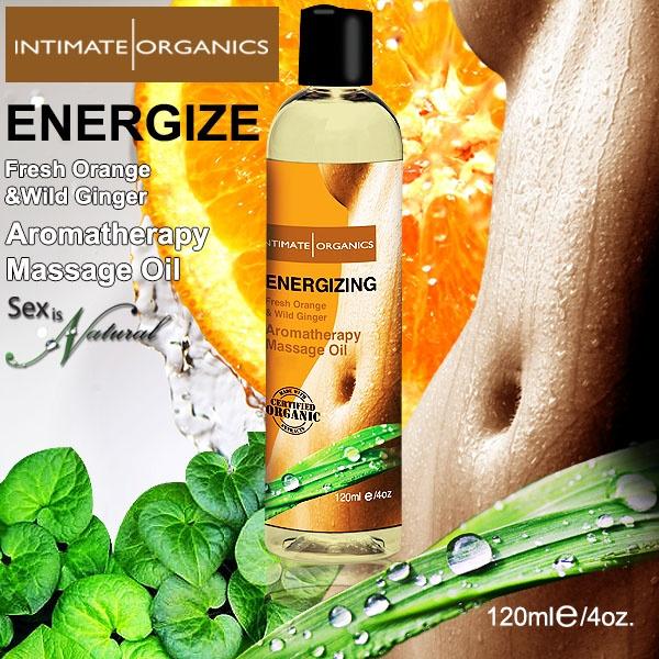 加拿大Intimate*ENERGIZE薰香按摩油-鮮橙