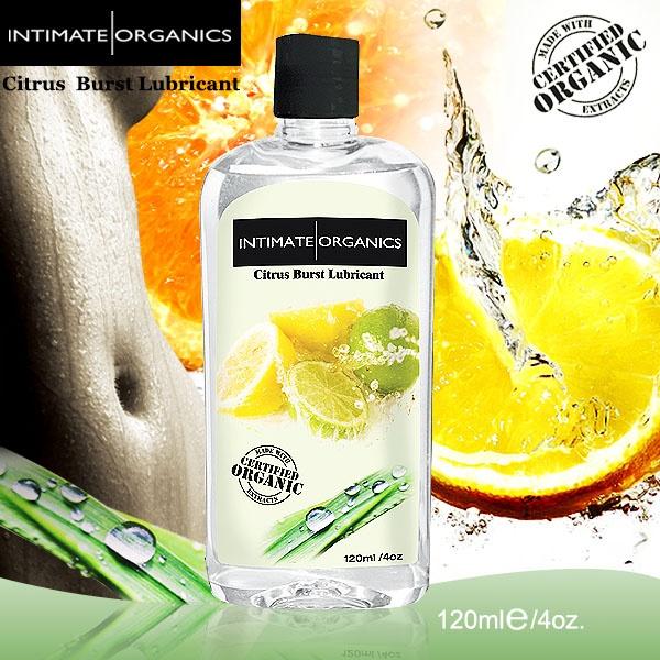 加拿大Intimate*水果口味熱感潤滑液-柑橘(120ml)