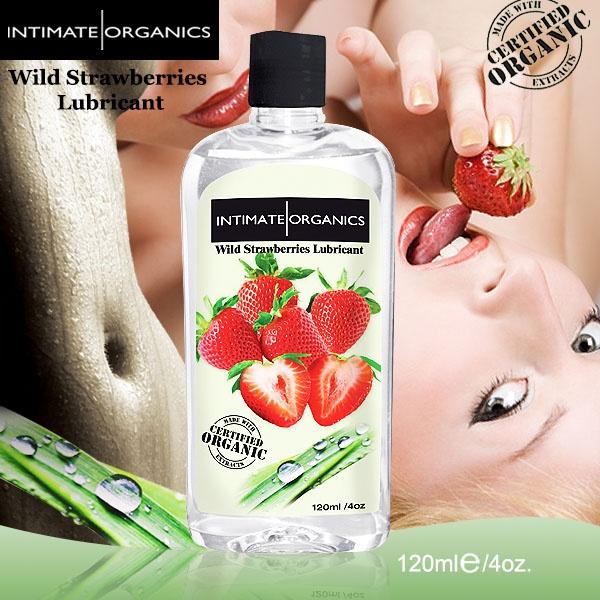 加拿大Intimate*水果口味熱感潤滑液-草莓(120ml)