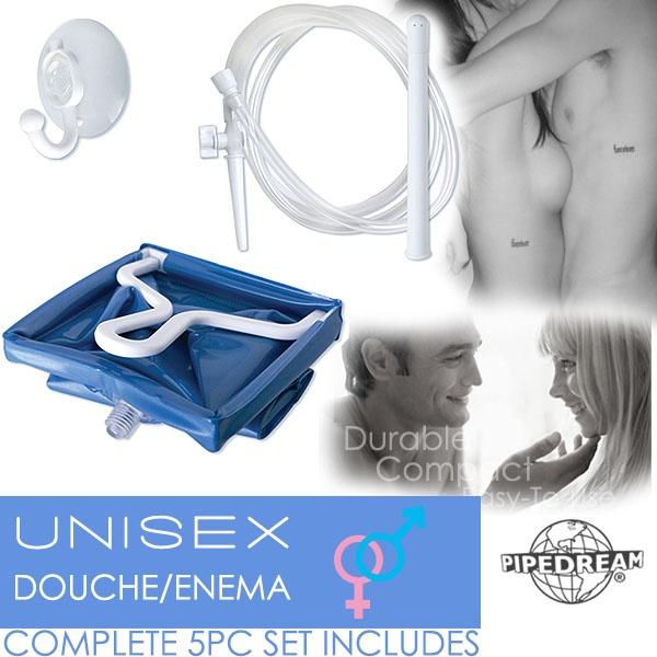 美國PIPEDREAM*Unisex Douche-Enema 大容量2L 前後庭清洗注射器