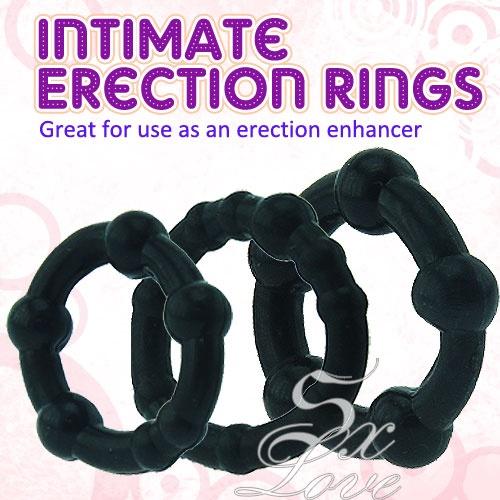 黑金剛特級鎖精環( 超值3環組 )
