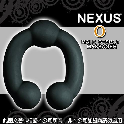 英國Nexus*O 前列腺搖滾按摩器-黑