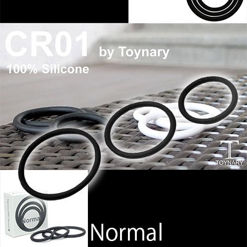 日本NPG*Toynary CR01 —- 陰莖環黑色三入裝