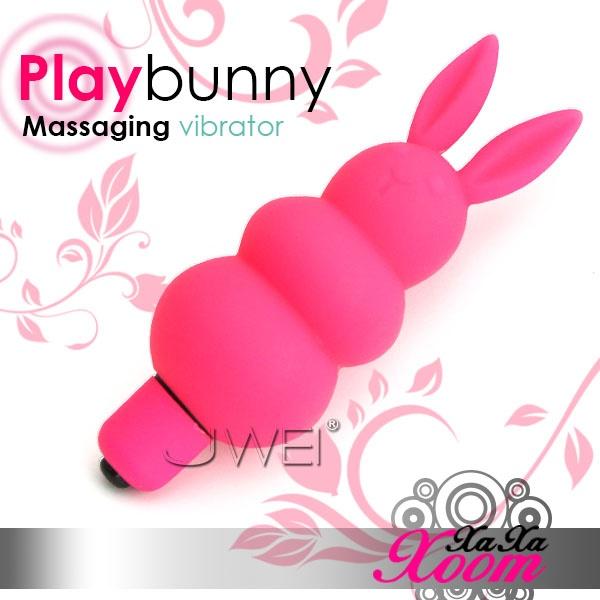 XaXaXoom.Play bunny玩樂掌中兔5段變頻造型跳蛋(粉)